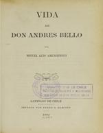 Cubierta para Vida de Don Andrés Bello