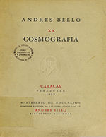 Cubierta para Cosmografía y otros escritos de divulgación científica