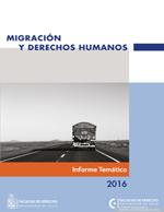 Cubierta para Migración y derechos humanos: Informe técnico 2016