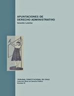 Cubierta para Apuntaciones de derecho administrativo
