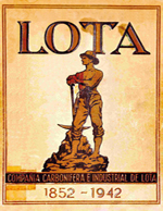 Cubierta para Lota: antecedentes históricos, con una monografía de la Compañía Carbonífera e Industrial de Lota en ocasión de celebrar el 90o. aniversario de la explotación de sus minas 1852-1942
