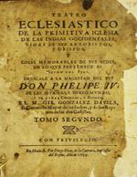 Cubierta para Teatro eclesiástico de la primitiva Iglesia de las Indias Occidentales: vidas de sus arzobispos y obispos y cosas memorables de sus sedes en lo que pertenece al reino del Perú