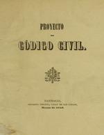 Cubierta para Proyecto de código civil: [V.4]
