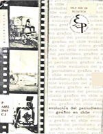 Cubierta para Evolución del periodismo gráfico en Chile