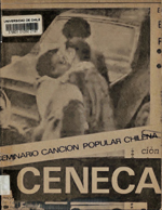 Cubierta para Seminario la canción popular chilena : (1973-1979)