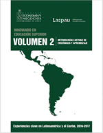 Cubierta para Innovando en la educación superior: experiencias clave en Latinoamérica y el Caribe 2016-2017, Volumen 2: metodologías activas de enseñanza y aprendizaje