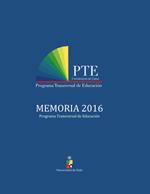 Cubierta para Memoria 2016 Programa Transversal de Educación