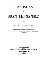 Cubierta para Las islas de Juan Fernández