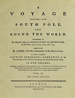 Cubierta para A Voyage Towards the South Pole and Round the World Volume 2