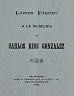 Cubierta para Corona fúnebre a la memoria de Carlos Ríos González
