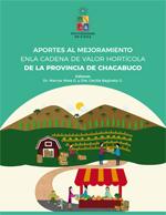 Cubierta para Aportes al mejoramiento en la cadena de valor hortícola de la provincia de Chacabuco
