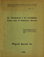 Cubierta para El trabajo y el hombre: ensayo sobre el Humanismo Marxista