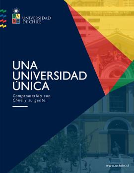 Cubierta para Una Universidad única: comprometida con Chile y su gente