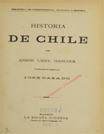 Cubierta para Historia de Chile