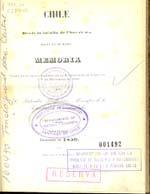 Cubierta para Chile desde la Batalla de Chacabuco hasta la de Maipo: memoria leída en la sesión solemne de la Universidad de Chile el 1o. de Diciembre de 1850