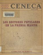 """Cubierta para El discurso sobre el trabajador y el poblador en """"El Mercurio"""" y """"La Tercera"""": 1973-1983"""