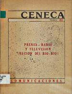 Cubierta para Prensa-radio y televisión: región del Bío-Bío