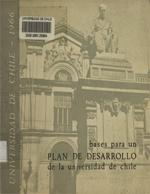 Cubierta para Bases para un plan de desarrollo de la Universidad de Chile