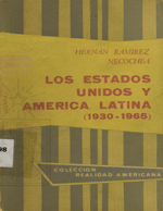 Cubierta para Los Estados Unidos y America Latina: (1930-1965)