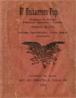Cubierta para El guitarrero popular: cuaderno de poesías,canciones, zarzuelas i tonadas