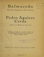 Cubierta para Balmaceda - Pedro Aguirre Cerda