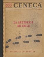 Cubierta para La artesanía en Chile: diagnóstico exploratorio