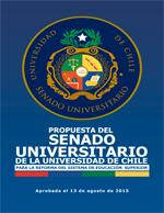 Cubierta para Propuesta del Senado Universitario de la Universidad de Chile para la reforma del sistema de educación superior