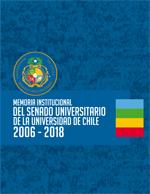 Cubierta para Memoria Institucional del Senado Universitario 2006 - 2018 - Universidad de Chile