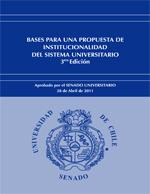 Cubierta para Bases para una propuesta de institucionalidad del sistema universitario