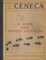 Cubierta para El debate internacional sobre políticas culturales y democracia
