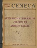 Cubierta para Informática y normativa jurídica en América Latina
