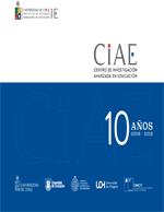 Cubierta para CIAE Centro de Investigación Avanzada en Educación: 10 años 2008-2018