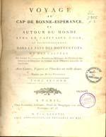 Cubierta para Voyage au Cap de Bonne-Espérance, et autour du monde avec le Capitaine Cook, et principalement dans le pays des Hottentots et des Caffres: tome second