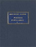 Cubierta para Poesías populares: tomo I