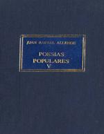 Cubierta para Poesías populares. tomo V