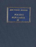 Cubierta para Poesías populares. tomo III