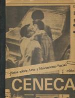 Cubierta para Notas sobre movimiento social y arte en el regimen autoritario: (1973-83)