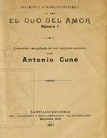Cubierta para Nuevo cancionero, o sea, El duo del amor: número I