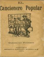 Cubierta para El cancionero popular: cuaderno primero