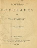 Cubierta para Poesias populares: tomo X