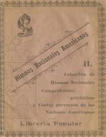 Cubierta para El cancionero americano: Colección de himnos nacionales , composiciones patrióticas y cantos guerreros de las naciones americanas : [Tomo II]