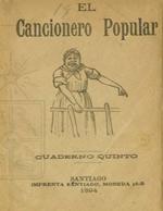 Cubierta para El cancionero popular: cuaderno quinto