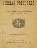 Cubierta para Poesías populares: libro tercero