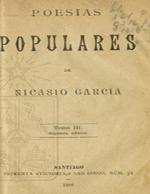 Cubierta para Poesías populares: tomo III