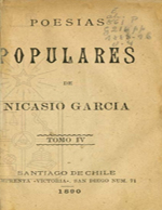 Cubierta para Poesías populares: Tomo IV