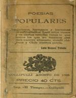 Cubierta para Poesías populares