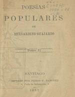Cubierta para Poesías populares: tomo II