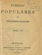 Cubierta para Poesías populares: Tomo VI