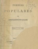 Cubierta para Poesías populares: Tomo 7