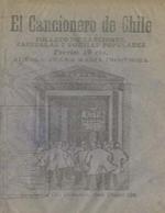 Cubierta para El cancionero de Chile: folleto de canciones, zarzuelas i poesias populares
